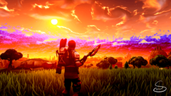 Sunset wallpaper what do you think FortNiteBR