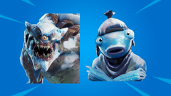Leak Fortnite Polar Legends Pack Includes Cattus Frozen