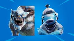 Leak Fortnite Polar Legends Pack Includes Cattus Frozen