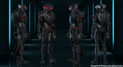 Young Justice Black Manta for XPS by ShaunsArtHouse