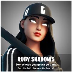 Ruby Shadows Fortnite wallpapers