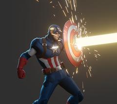 Captain America Fortnite wallpapers