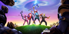Fortnite X Avengers wallpapers
