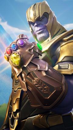 Thanos In Fortnite Battle Royale