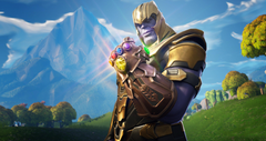 Thanos In Fortnite Battle Royale HD Games 4k Wallpapers Image