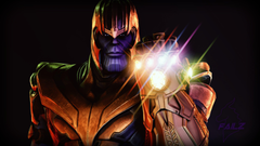 Thanos Infinity Gauntlet Fortnite Battle Royale Wallpapers and