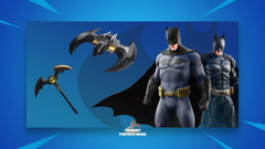 Batman Comic Book Outfit Fortnite wallpapers
