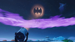 Fortnite X Batman where to turn on different Bat