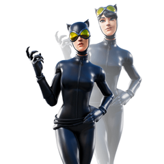 Catwoman Comic Book Outfit Fortnite wallpapers