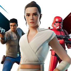Fortnite adds Rey and Finn skins in time for Star Wars The