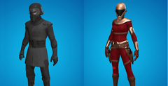 Fortnite New Star Wars Kylo Ren and Zorii Bliss Skins and