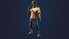 Blue Striker Fortnite Icon
