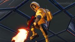 Another Screenshot I took of Summit Striker FortNiteBR