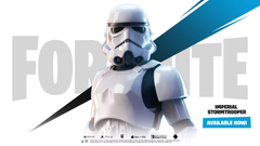 Fortnite x Star Wars event kicks off with a stormtrooper