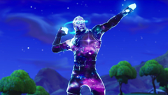 Fortnite Galaxy Skin First Look and gameplay