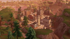 Fortnite Tilted Towers 4k Ultra HD Wallpapers