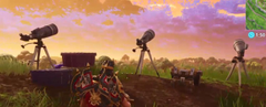Comet found in Fortnite Battle Royale