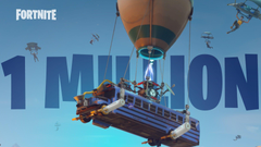 Fortnite Battle Royale Reaches Over One Million Players in First