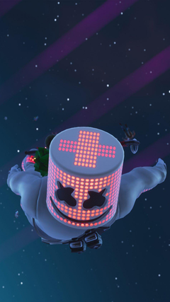 Marshmello In Air Fortnite G Mobile wallpapers Gaming