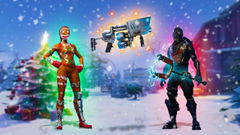 CHRISTMAS UPDATE NEW WEAPON SKINS DANCES MORE
