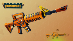 they should add weapon skins FortNiteBR