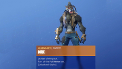 Fortnite Season 6 Tier 100 skin is an evolving werewolf and dear god