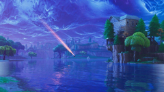Fortnite with Meteors Backgrounds