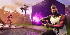 Fortnite Purple Cube Mystery Wallpapers and Stock Photos