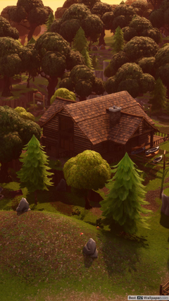 Lonely Lodge 4k Fortnite HD wallpapers