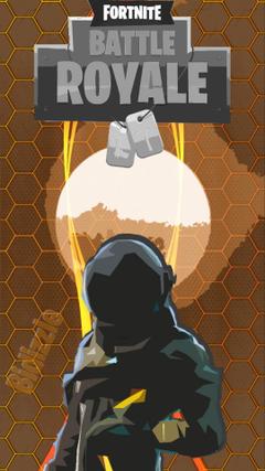 Made a Dark Voyager wallpaper hope you enjoy FortNiteBR