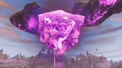 The Cube Just Cracked and Dropped Something into Leaky Lake