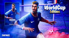 Fortnite Un skin de l Équipe de France de football créé à l