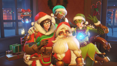 Overwatch All the Christmas Skins