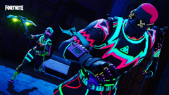 Fortnite Battle Royale Omega Video iPad Contest Wallpapers for