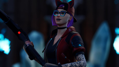 Downaload Glasses woman skin urban girl Fortnite wallpapers