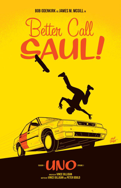 Better Call Saul Season 1 Episode Posters