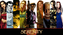 Awesome Firefly wallpapers collage using the comics wallpapers
