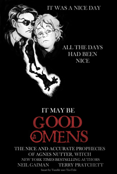 Speaking of obscure old movie posters to redraw into Good Omens