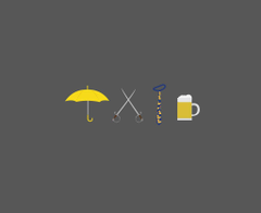 How i Met Your Mother Minimalism by willianscred