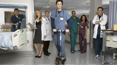 Scrubs Zach Braff In Hospital Wallpapers