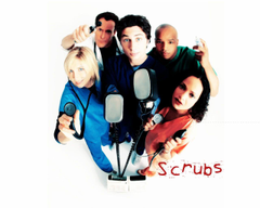 Scrubs Wallpaper Cast Promo JD Elliot