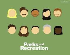 Parks And Recreation Minimalist