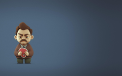 minimalism Humor Ron Swanson Parks And Rec Wallpapers HD