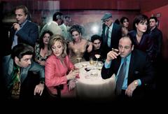 SOPRANOS crime drama mafia television hbo g