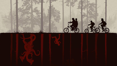 fantastic pieces of Stranger Things art
