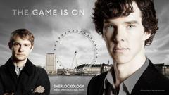 Sherlock Holmes TV series Benedict Cumberbatch Martin man