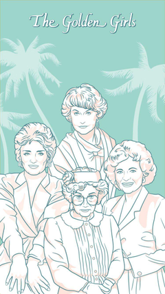 Golden Girls Phone Wallpapers to Thank You for Being a Friend