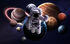 Science Mars Neptune Planet Planet Moon Cosmos Jupiter Earth Stars
