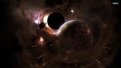 Planet and black hole wallpapers
