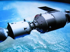 Tiangong 1 Out of control Chinese space station about to fall to